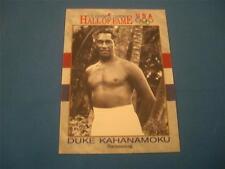 Duke Kahanamoku US Olympic Cards Hall of Fame 1991 20