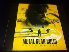 1137 New Metal Gear Solid Peace Walker Sony PSP Original SOUNDTRACK Music CD