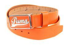 PUMA Cinturón Script Fitted Belt CTL W115 Vibrant Naranja
