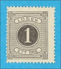SWEDEN J1 POSTAGE DUE MINT HINGED * NO FAULTS VERY FINE !