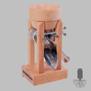 Kornquetsche Eschenfelder - Tischmodell Trichter Buche, Flockenquetsche