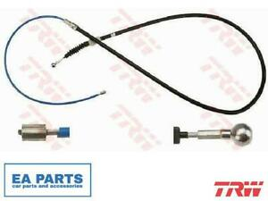 Cable, parking brake for SEAT SKODA VW TRW GCH2602