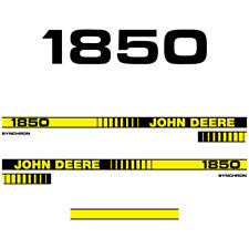 John Deere 1850 tractor decal aufkleber adesivo sticker set
