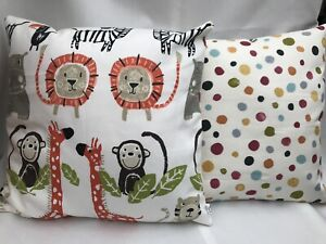 "Prestigious Textiles Snappy Paintbox Cushion Cover 40cm 16"" Children Nursery B"