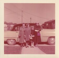 Generations Of Women FOUND PHOTOGRAPH Color FREE SHIPPING Original GIRLS 84 15