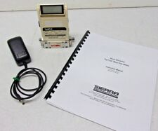 Sierra Top-Trak Flow Meter w/ Display 821S2-L-1, Air 0-10 SLPM, Power Supply, EC