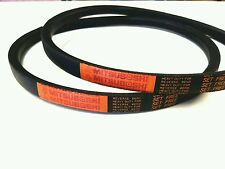 2 Genuine Mitsuboshi PTO Belts For Kubota G23 Replaces P/N K2053-15643