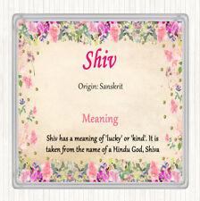 Posavasos Bebidas Shiv nombre significado floral de la estera