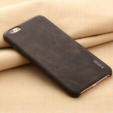 Luxury Vintage Genuine Leather Back Case Cover For iPhone 5S SE 6 6S 7 Plus S001