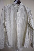 Brooks Brothers 100% Cotton Multi-Colored Striped Dress Shirt Size 16 35