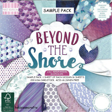 DOVECRAFT BEYOND THE SHORE 6 X 6 SAMPLE PACK - NEW 1 OF EACH DESIGN - 16 SHEETS