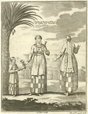 TIBET. 'Northern Tartary Woman at Lassa'. Lhasa. Tatars. After GRUEBER 1746