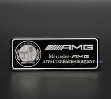 Car Modified Sport Emblem Badge Sticker Logo AMG Edition for Mercedes Benz Black