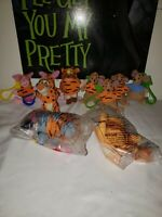 Lot of 10 Winnie The Pooh Plush Keychain Bag Clips The Tigger Movie  McDonald's