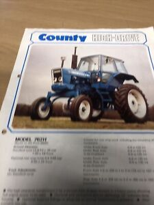 County Ford Tractor 762H  Brochure