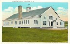 Laconia New Hampshire~Golf & Country Club~Cupola Weathervane~1920s Postcard