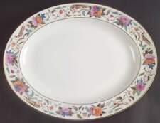 "Minton DONOVAN BIRD 13 5/8"" Oval Serving Platter 330168"
