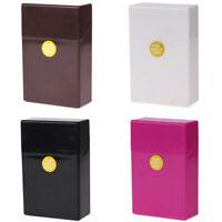 Plastic Cigarette Case Box Holder Tobacco 20 Cigarettes Pocket King Size