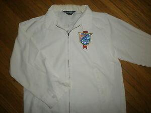 vtg OLD STYLE BEER WORK JACKET Windbreaker Delivery Guy Coat Logo Back Patch 70s