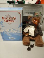 Raikes Bears wood face limited edition Lindy Jr. In Original Box - Some Wear
