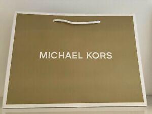 Michael Kors Paper Carrier/Gift Bag Gold - 28 x 38 x 17cm
