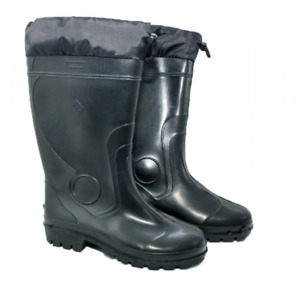 PVC rubber boots for men,Hunting,Fishing,Hiking,All-weather, Waterproof + GIFT