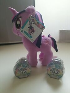 Hasbro My Little Pony The Movie Princess Twilight Sparkle Plush w/ 2 Blind Bags