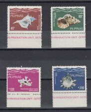 TIMBRE STAMP 4 PHILIPPINES Y&T#1209-12 COQUILLAGE SHELL NEUF**/MNH-MINT 1980~B23
