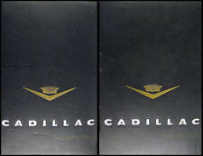 1957 Cadillac Color and Upholstery Dealer Albums 2 Book Set Large Size RARE