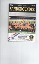 Southport Football Non-League Fixture Programmes (1990s)