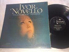 ERIC JOHNSON - THE MUSIC OF IVOR NOVELLO - GLAMOROUS NIGHTS SOCIETY RECORDS LP