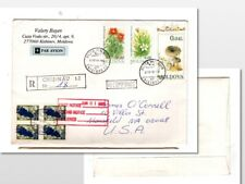 Moldova registered cover to Mansfield Ma USA  1995 , (367