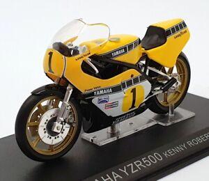 Ixo Models 1/24 Scale IB14 - Yamaha YZR500 - #1 Kenny Roberts - Yellow