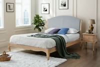 Ritz Bed in 4ft6 Double 5ft King 6ft Super King French Inspired Birlea Bed Frame