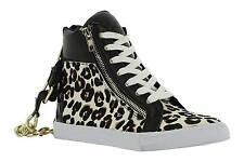 Juicy Couture  women's natural leo pony leather shoes size 6.5UK (EU39.5) - SALE