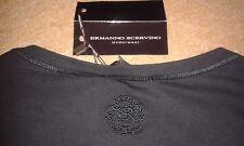 Ermanno Scervino Black Men's T-shirt - Medium RRP £ 135.00