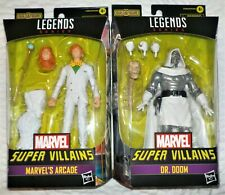 Lot of 2 Marvel Legends figures - Xemnu Series Arcade and Dr. Doom - In Package