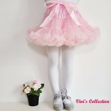 Girls Pettiskirt Tutu Skirt Ballet Tulle Ballerina Dance Party Christmas Dress