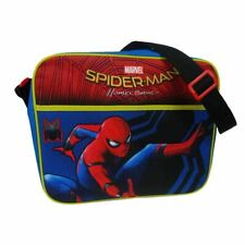 Marvel Spider-Man Homecoming School Messenger Bag - Courier Avengers Childrens