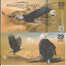 ATLANTIC FOREST BILLETE 29 AVES DOLLARS 2017