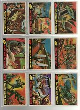 TOPPS 1962 Mars Attacks Complete Set (55 Cards)