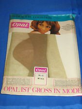 60s Nylonstrümpfe *Opal-RHT* Gr. 9*Strapsstrümpfe Perlon Nylon Bas Stockings(97