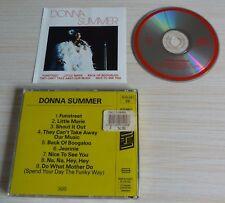 RARE CD ALBUM FUNSTREET DONNA SUMMER 9 TITRES 1987 NTERTAPE 500.051 MADE IN FRA