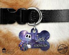 Dog Tag Pet Tag - ID Tag - Bone Tag - Nightmare Before Christmas - Jack
