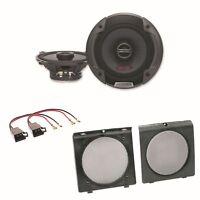Alpine SPG-13C2 2 Wege Lautsprecher Boxen System Einbauset Golf 2 Türen vorne
