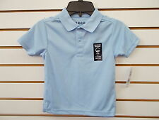 Boys Izod $22 Uniform or Casual Light Blue Wicking Polo Size 4 - 7