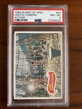 1969 Topps, Planet Of The Apes, #44 Lights! Camera! Action!, Psa 8
