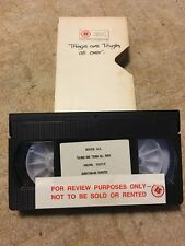 Things are tough all over. Pal VHS Cassette Promo