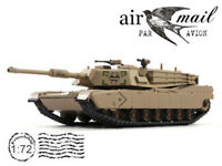 M1 Abrams American Main Battle Tank USA 1980 Year 1/72 Scale Collectible Model