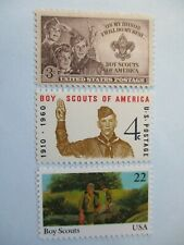 The USPS Boy Scouts of America Stamps  #995,#1145 ౯j